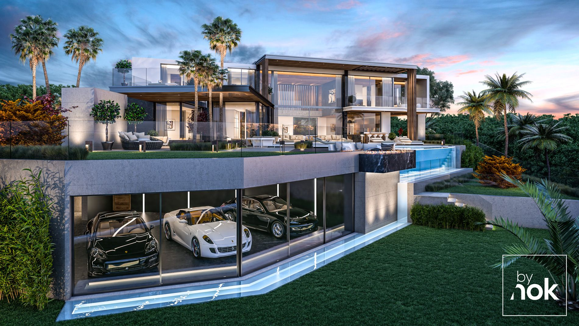 Located in paseo portugal elviria marbella this modern luxury villa designed by