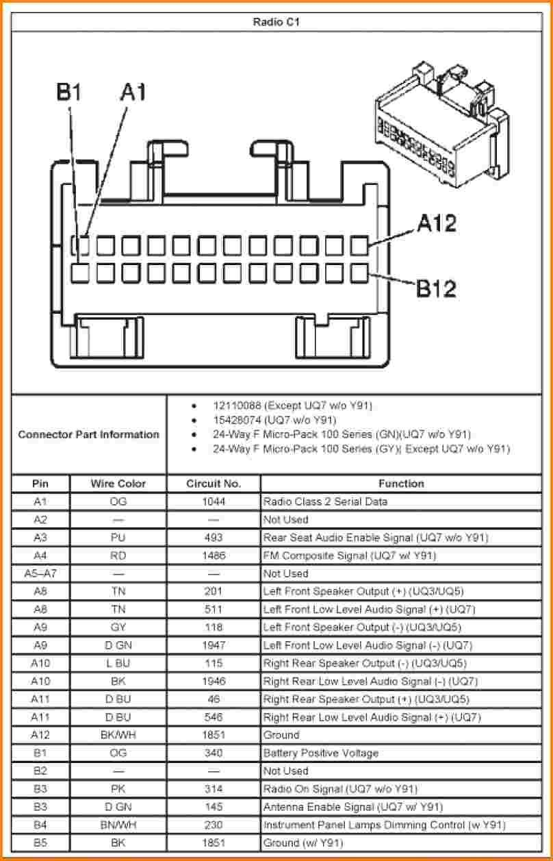Inspirational 2002 Chevy Silverado Radio Wiring Diagram Di 2020