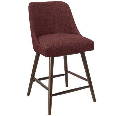 Miraculous 27 Geller Modern Counter Stool Wine Linen Project 62 Alphanode Cool Chair Designs And Ideas Alphanodeonline