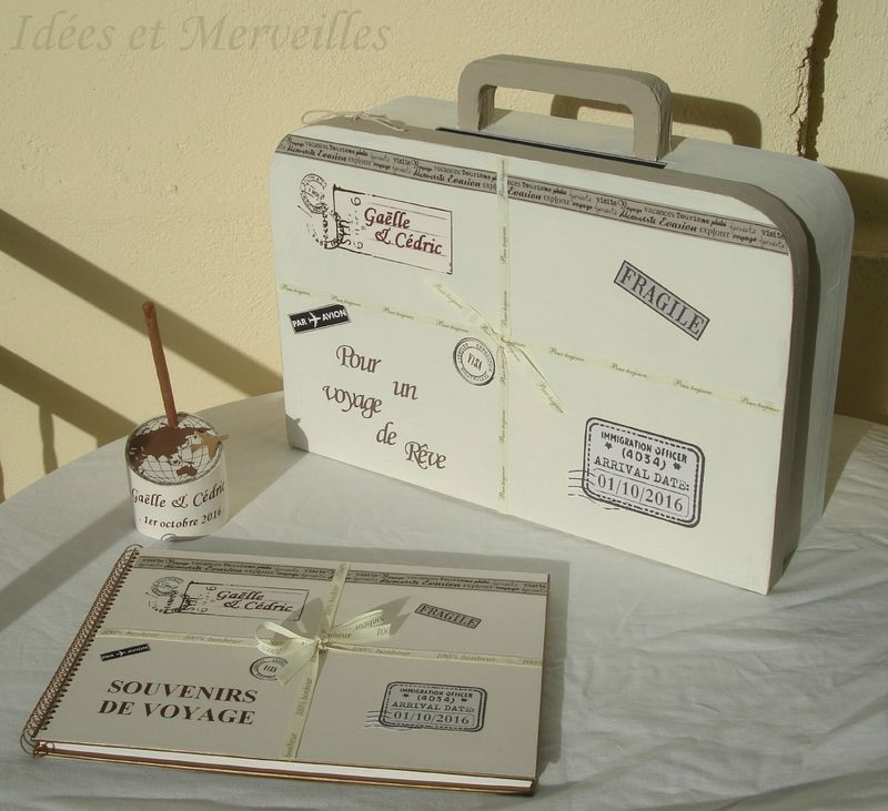 deco mariage theme voyage idees et merveilles siadkowa pinterest travel themes mariage. Black Bedroom Furniture Sets. Home Design Ideas