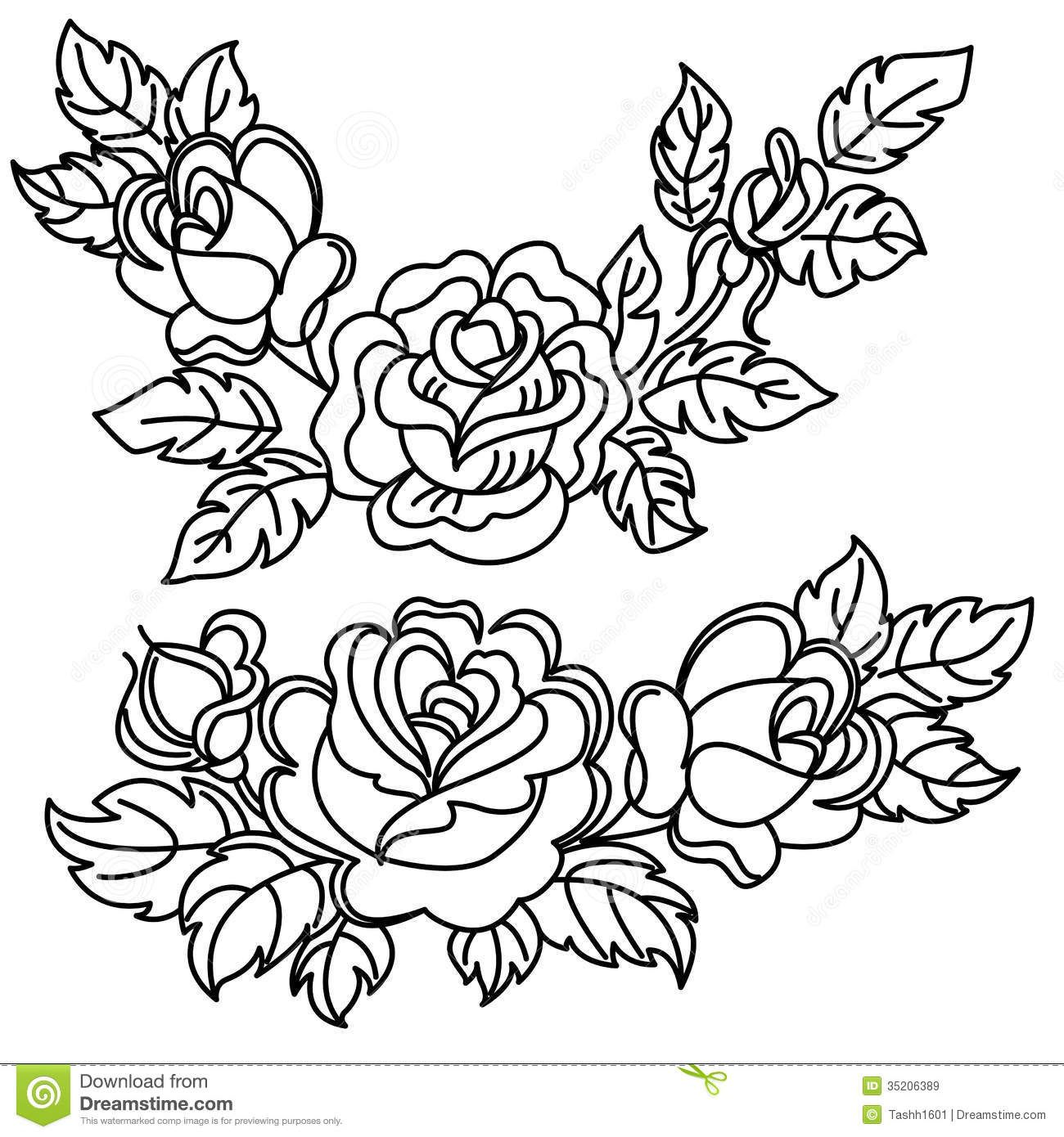 Image Result For Bunch Of Black And White Flower Clip Art