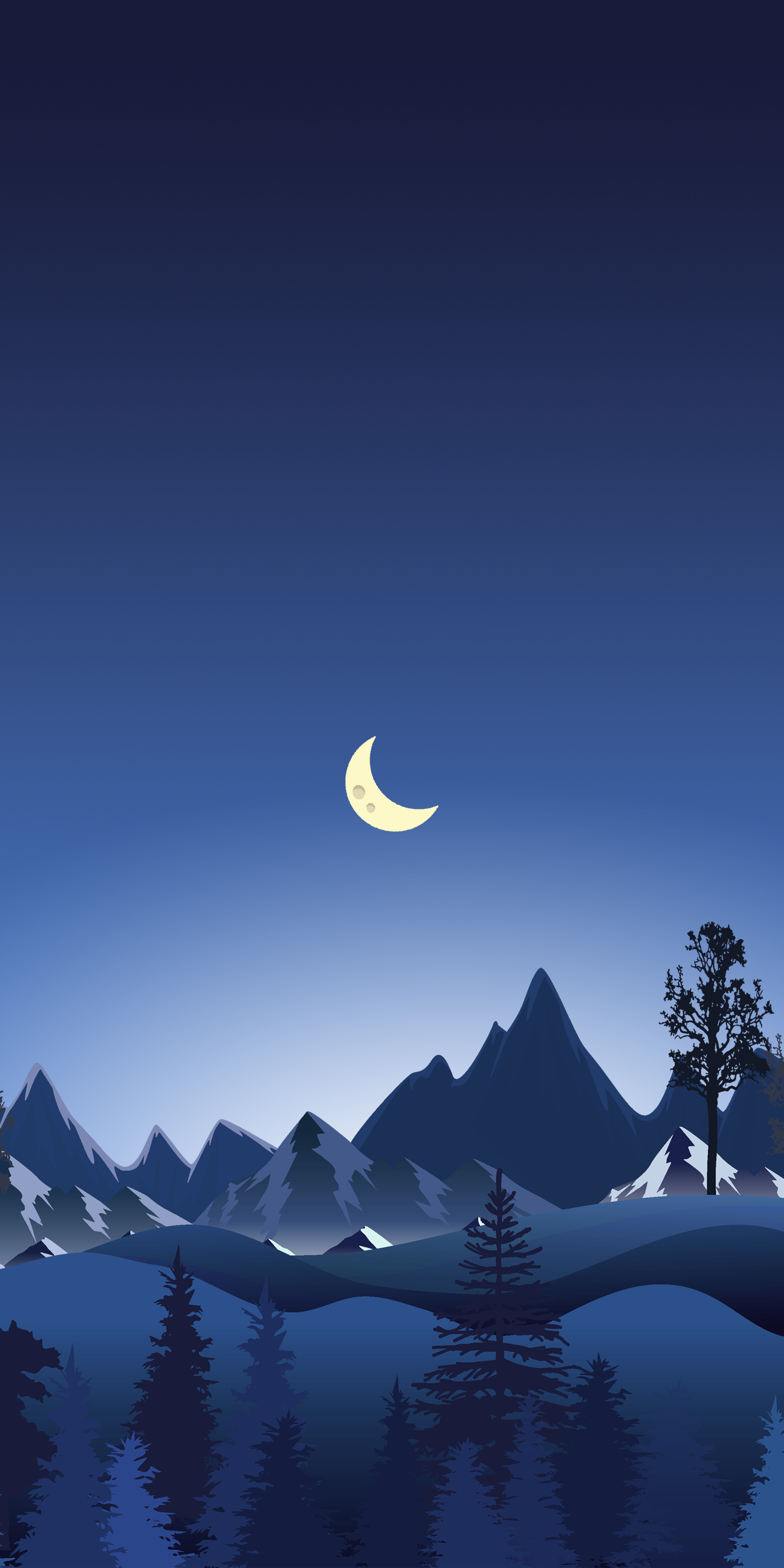 Snowy Wallpaper Illustrations For Iphone In 2020 Scenery Wallpaper Art Wallpaper Iphone Landscape Wallpaper