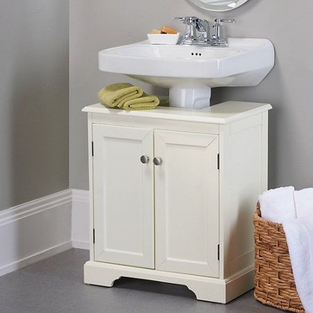 Weatherby Bathroom Pedestal Sink Storage Cabinet Bathroom Corner Storage Pedestal Sink Storage Pedestal Sink