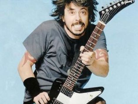 We touched David Grohl !!!!