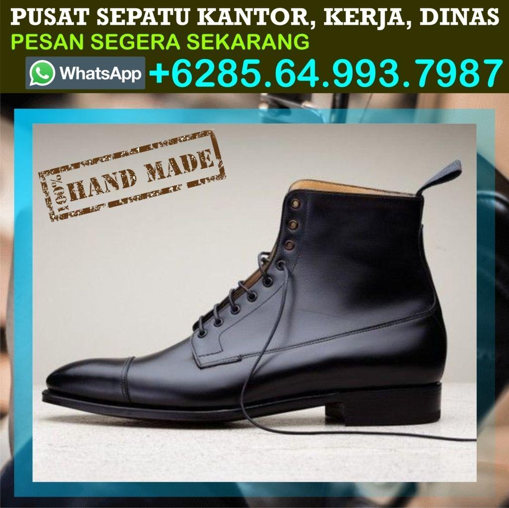 Pin Di 0856 4993 7987 Sepatu Kantor Coklat Sepatu Kantor Cowok