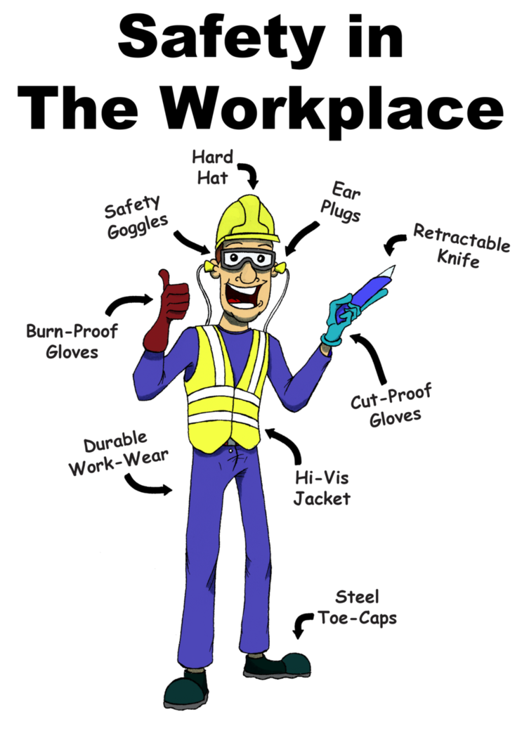 Safety In The Workplace by RAWilco on deviantART
