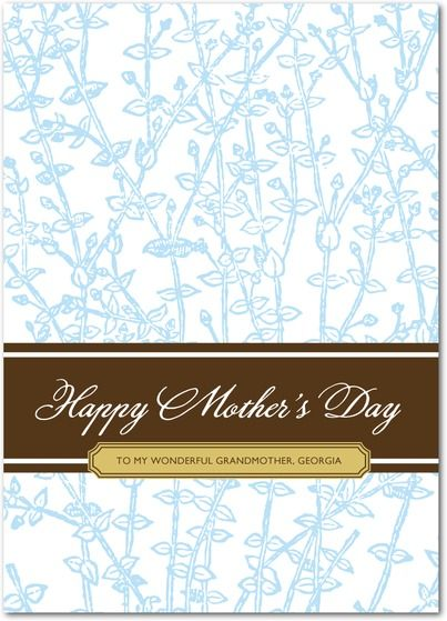 Thyme Sprigs - Mother's Day Greeting Cards in Coast | Lucky Bee Press