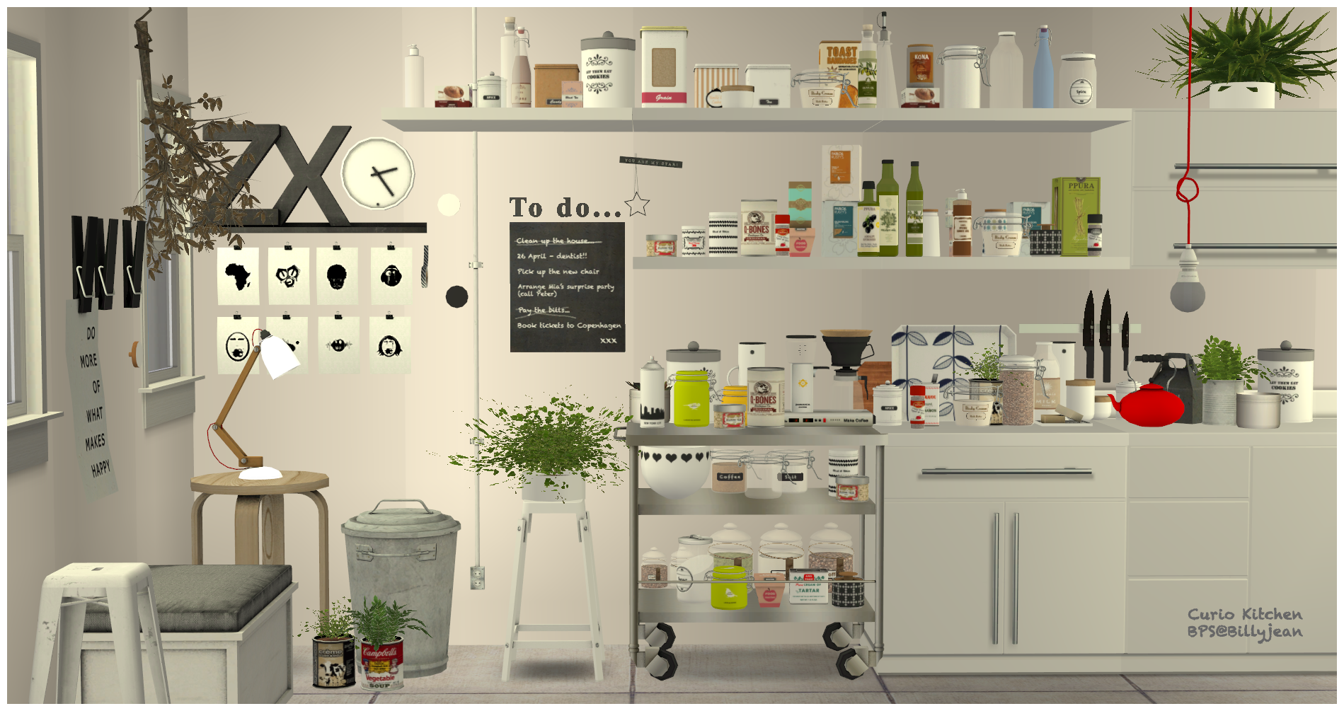 Sims Kitchen Sims 2 Curio Kitchen Set Downloads Bps Community Ts2cc