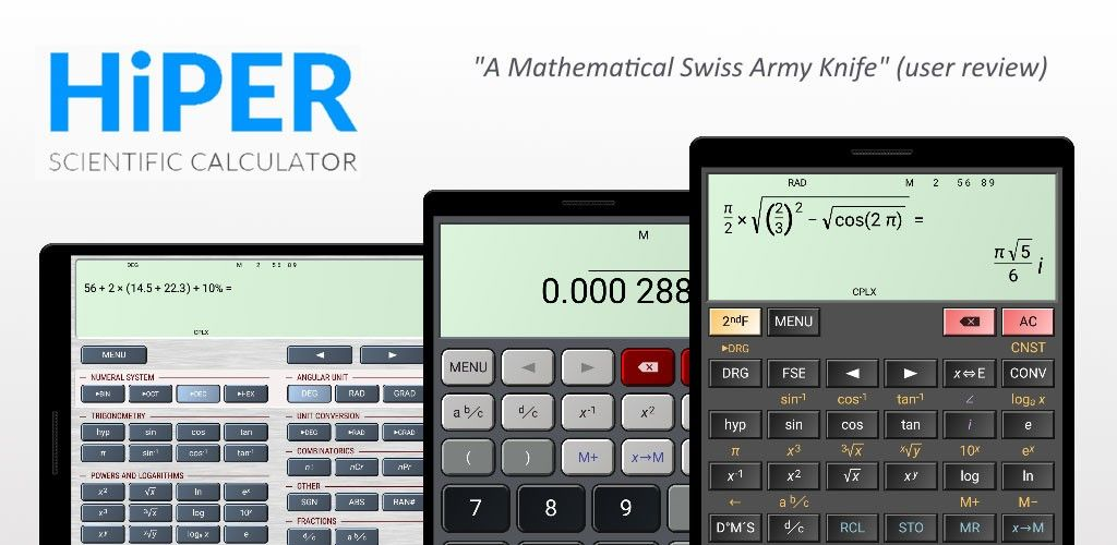 HiPER Calc Pro v6.4.1 Full Unlocked Paid APP Download Free