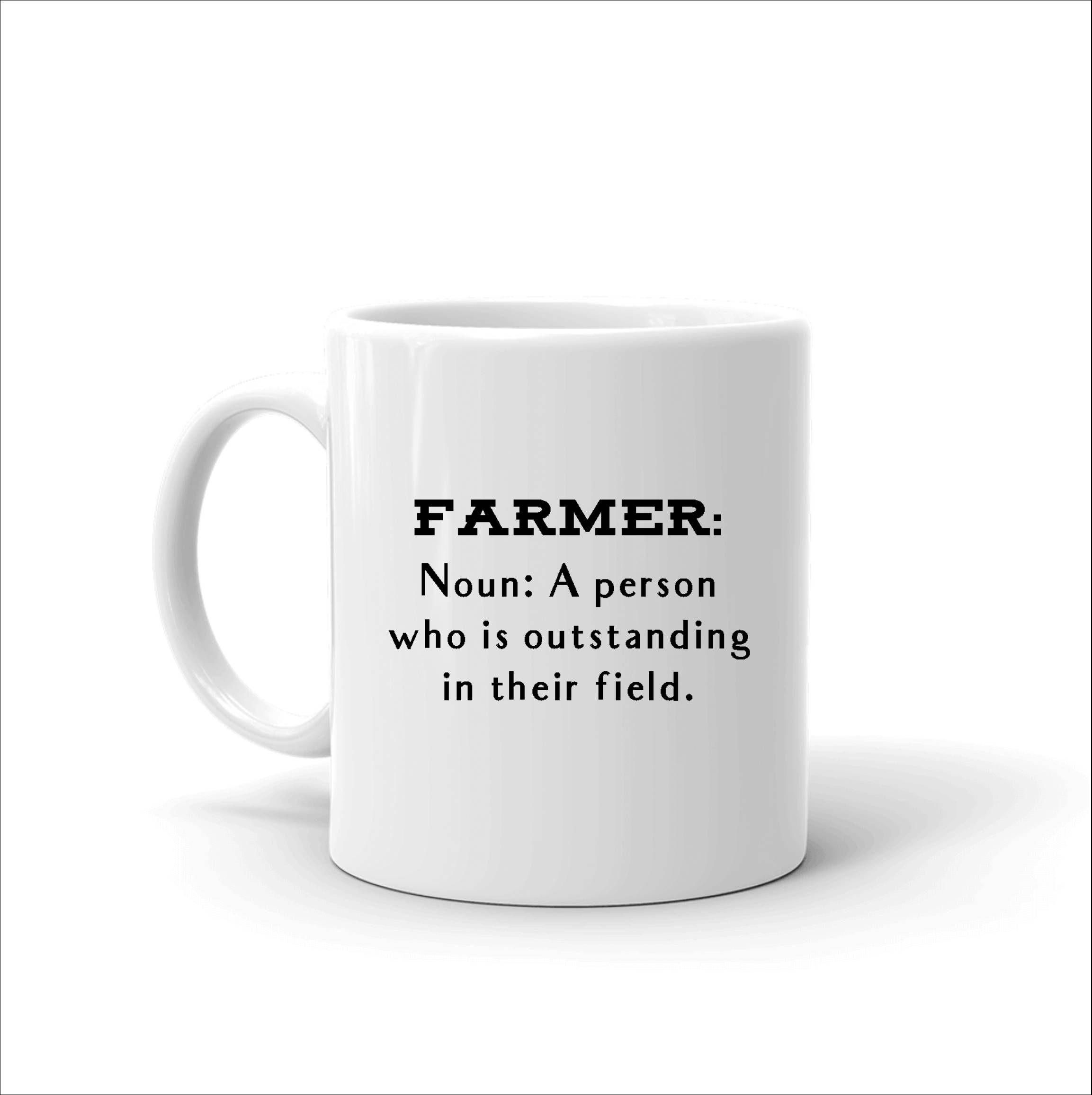Farmer Mug, Funny Farm Pun, Farmer Cup, Farmers Wife Mug