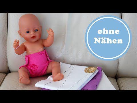 Auch Kinder könne diese Puppelwindel leicht nacharbeiten