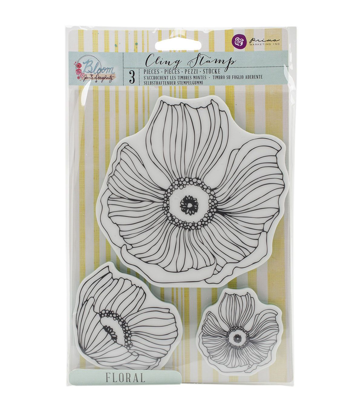 Image result for prima bloom floral stamps