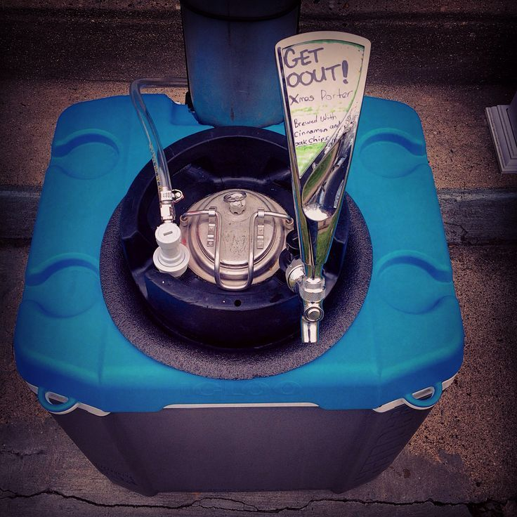 Simple instructions to make a portable cooler