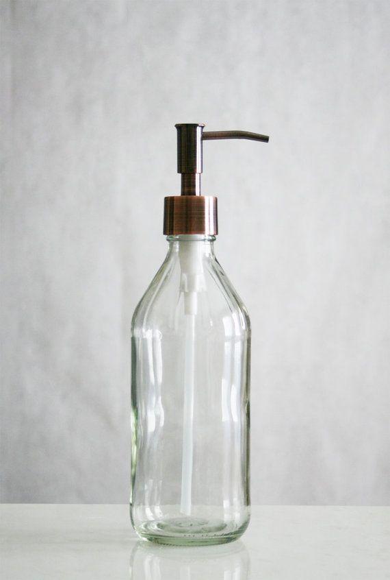 Vintage Soap Dispenser Vintage Inspired Glass Soap Dispenser