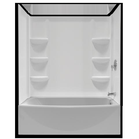 Wonderful Saver 60 Inch Tub Wall Set   American Standard Tub And Shower Walls