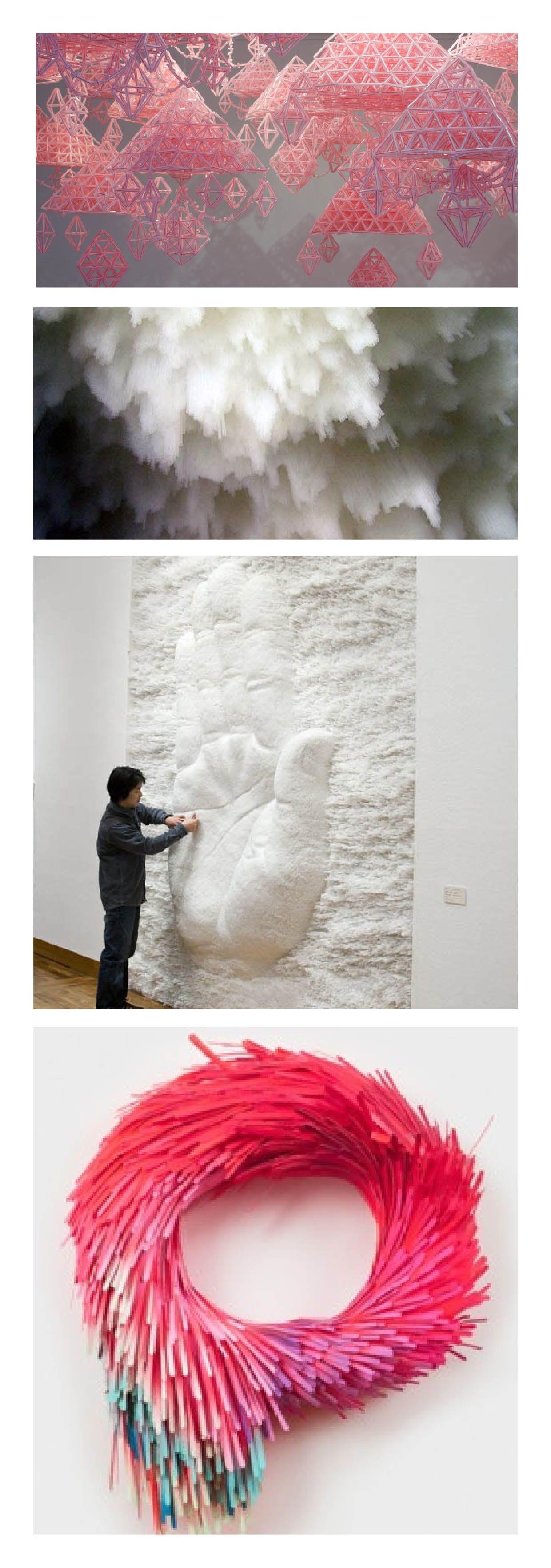 Made from straws | Sculptures&Installations | Pinterest | Straw art ...