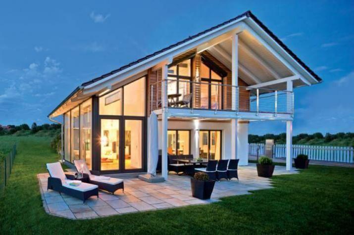 Hausbau satteldach  Bildergebnis für dachterrasse satteldach halb überdacht | Hausbau ...