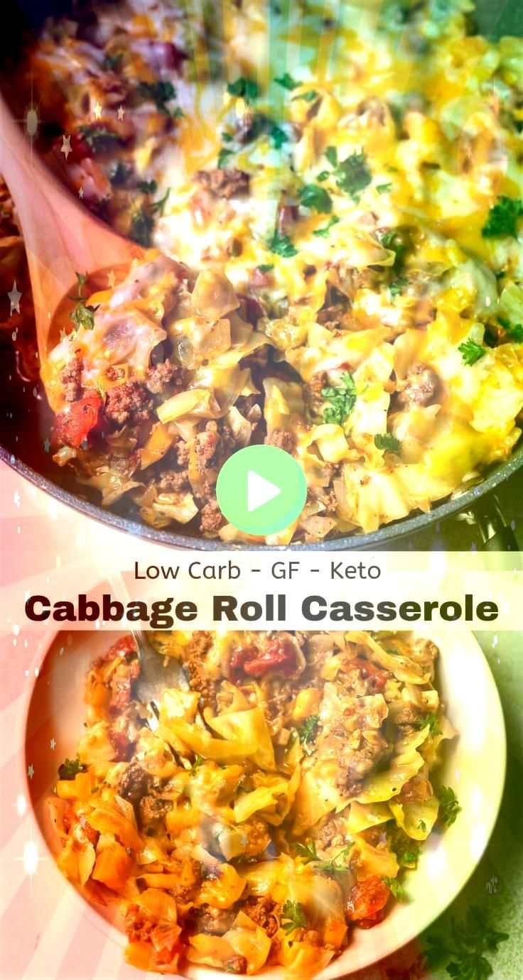 Low Carb Unstuffed Cabbage Casserole Recipe is a great family dinner idea  This Low Carb Unstuffed Cabbage Casserole Recipe is a great family dinner idea   This Easy Egg...