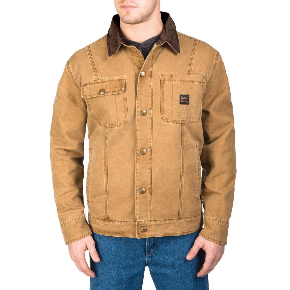 Walls Outdoor Goods Amarillo Worn In Duck Work Jacket Yj293wpc92x