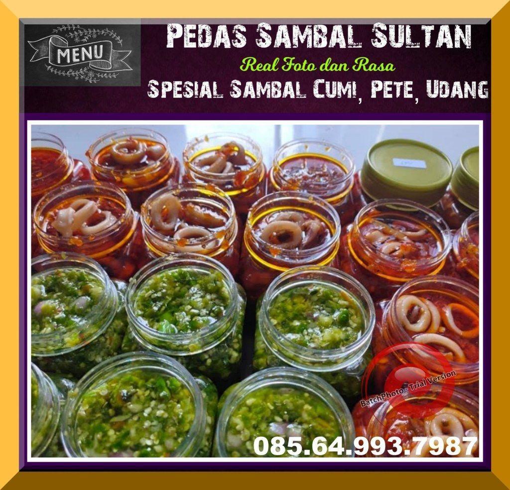 Pusat Sambal Teri 085 64 993 7987 Sambal Pete Sederhana Sambal Cumi Enak Resep Makanan Asia Makanan Kacang