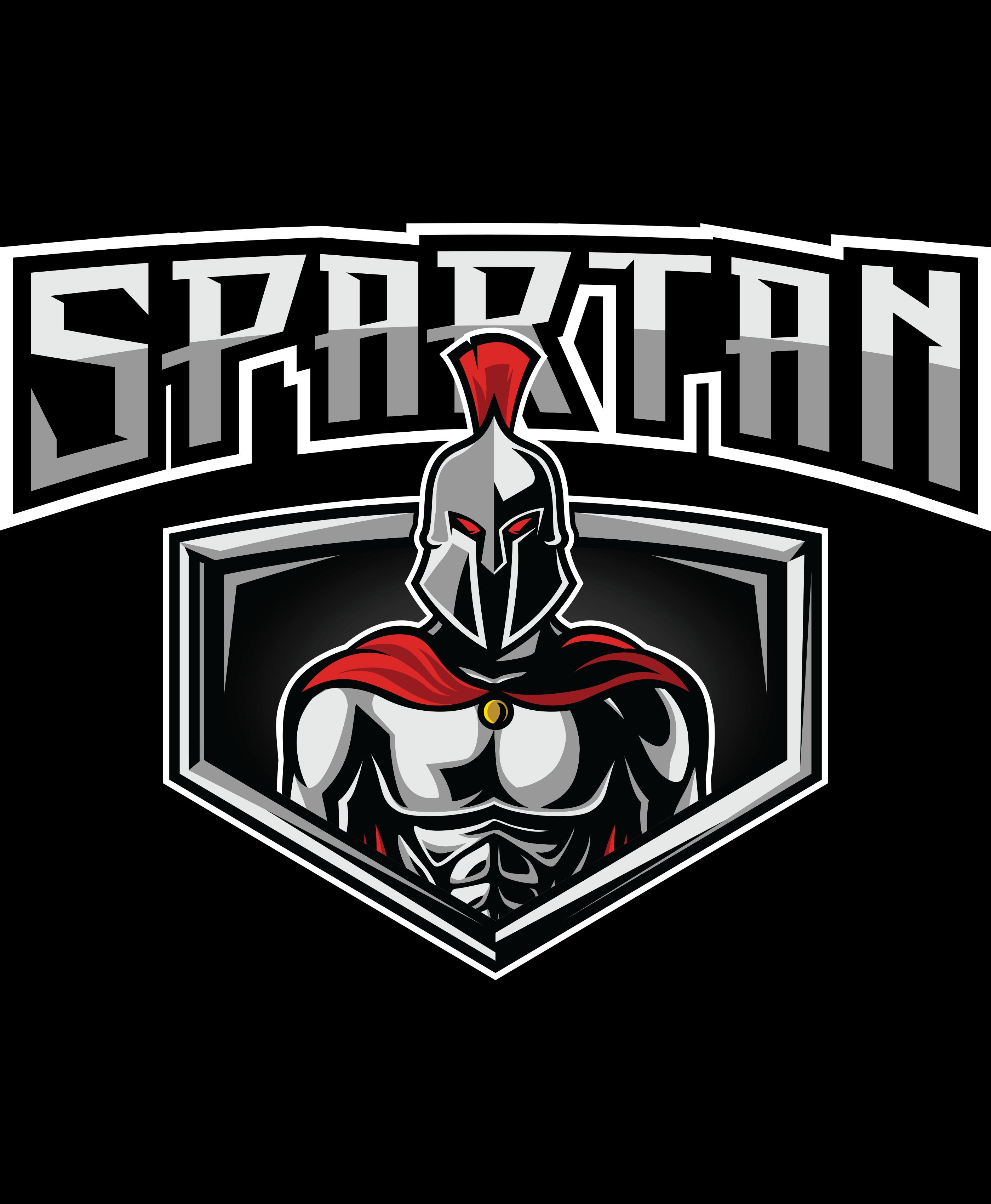 Spartan Warrior Fitness Sports Spartan Warrior Warrior Logo Bodybuilding Logo