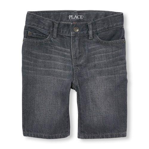 The Childrens Place Boys Denim Shorts