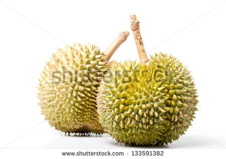 Stock Images similar to ID 262981970 - durian fruit isolated on a...