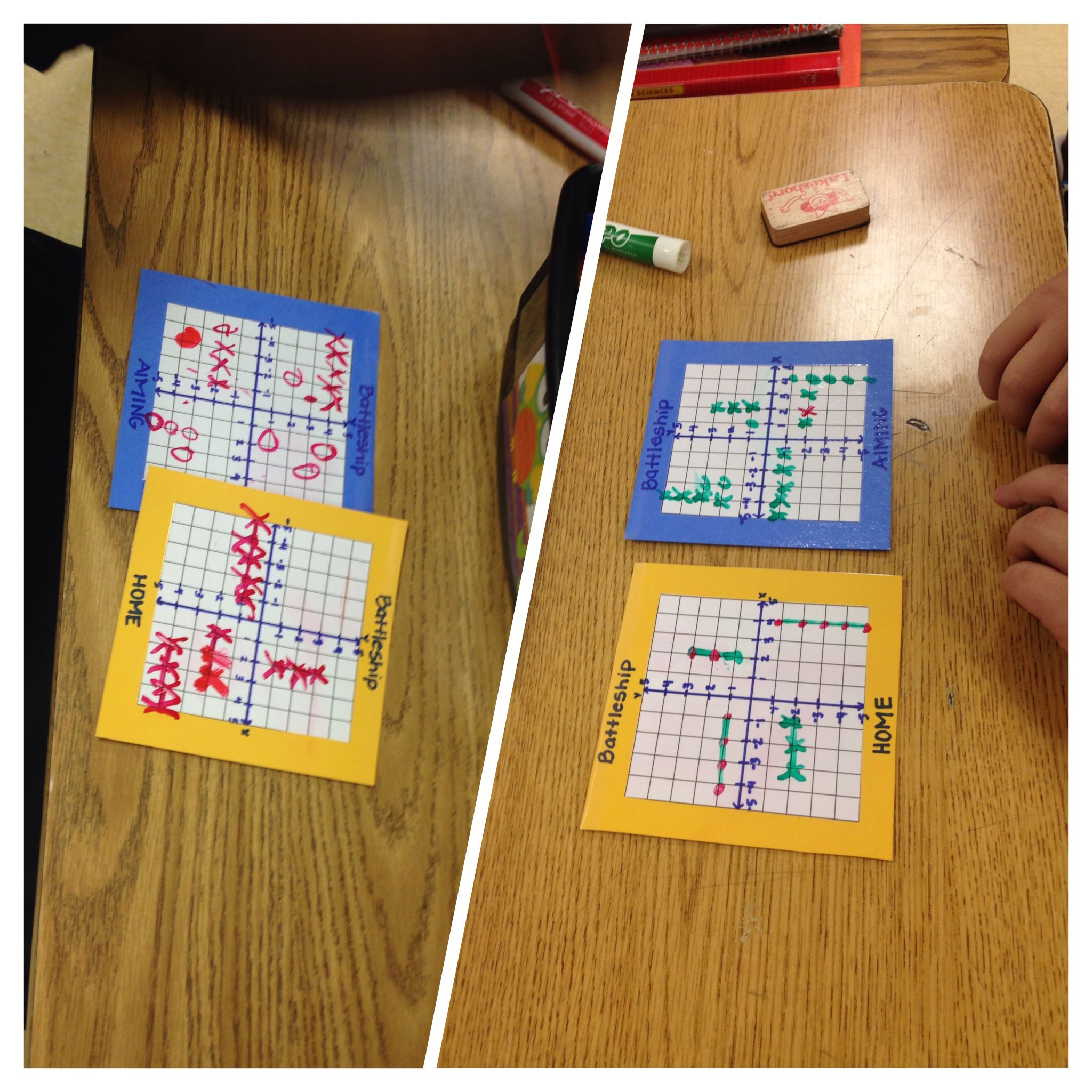 Coordinate Plane Battleship Game For Sixth Graders I Made