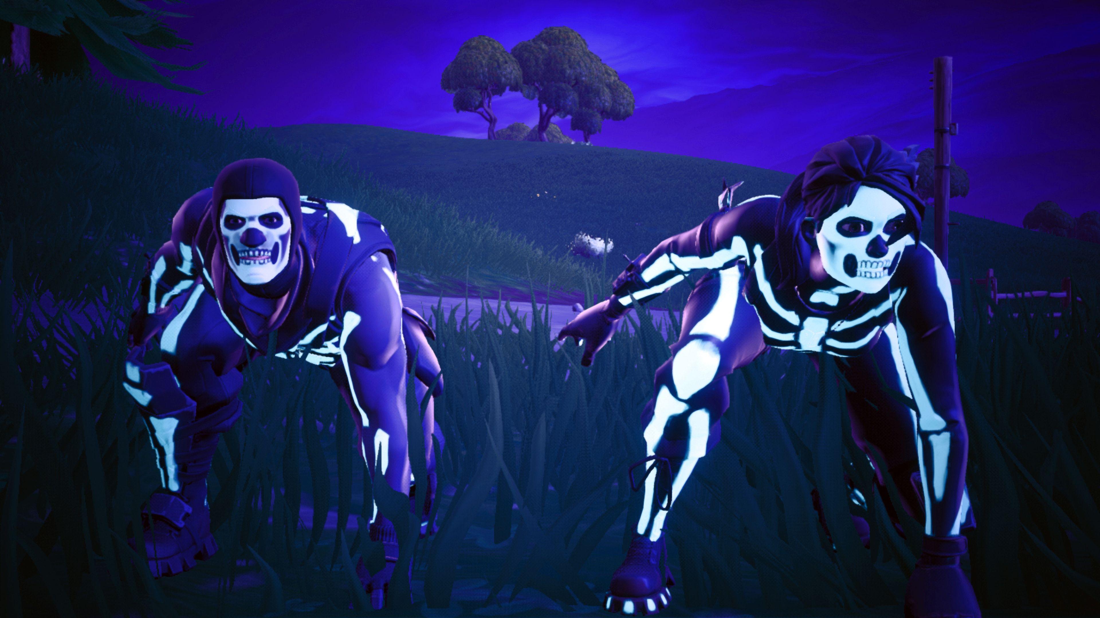 Skull Trooper And Skull Ranger Fortnite Battle Royale 4k 25311