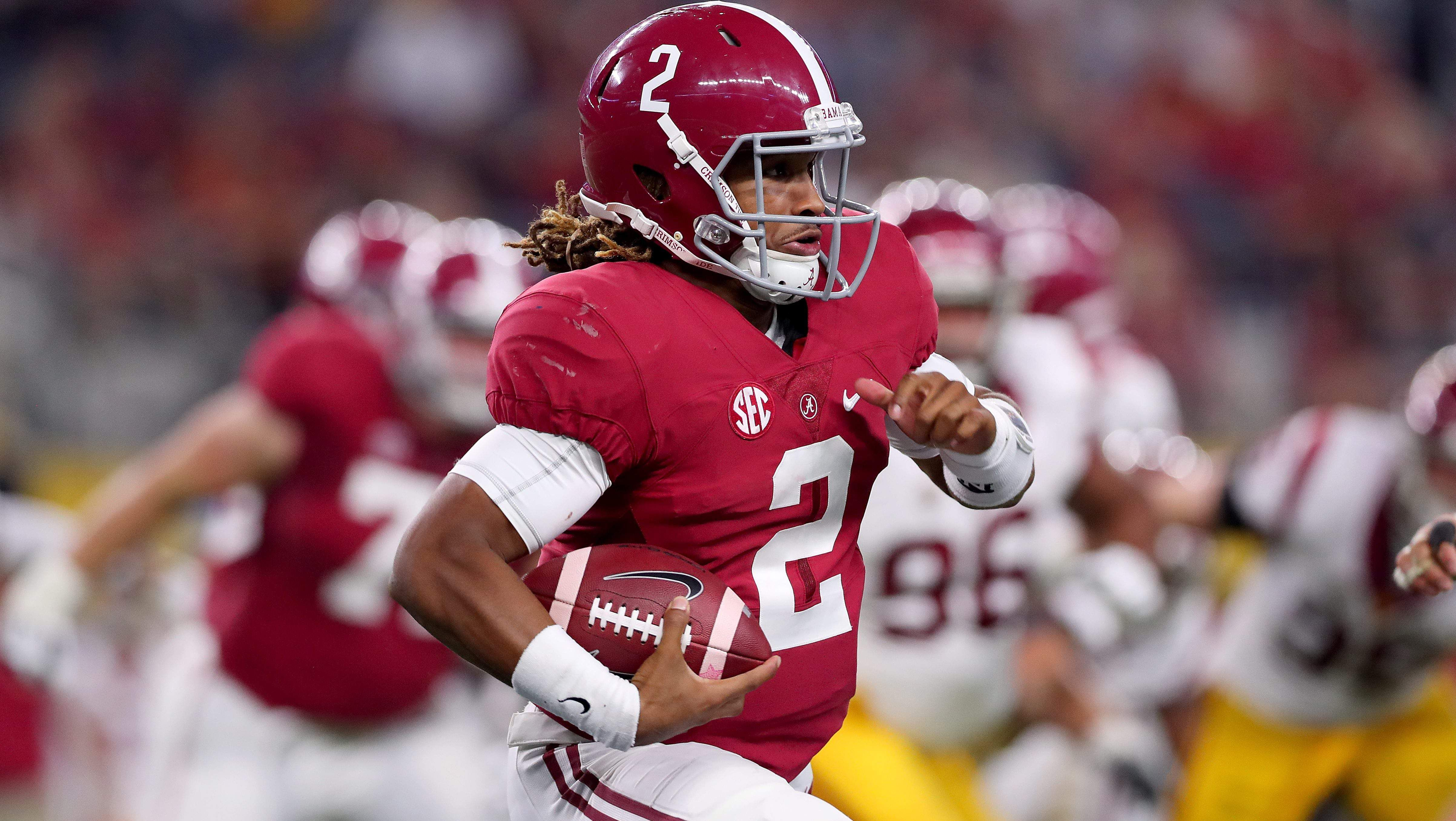 College Football Week 7 Betting Lines Alabama Ohio State Double