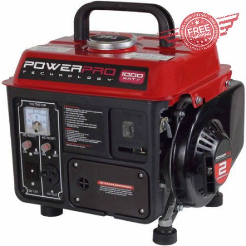 Power Pro 1000w 2 Stroke Gasoline Powered Portable Silent Lightweight Generator Powerpro Http Egardeningtools Com Product Category Gen Best Portable Generator
