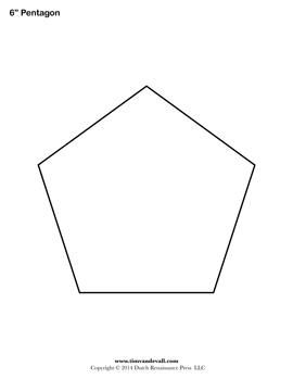 Pentagon Pdf Shape