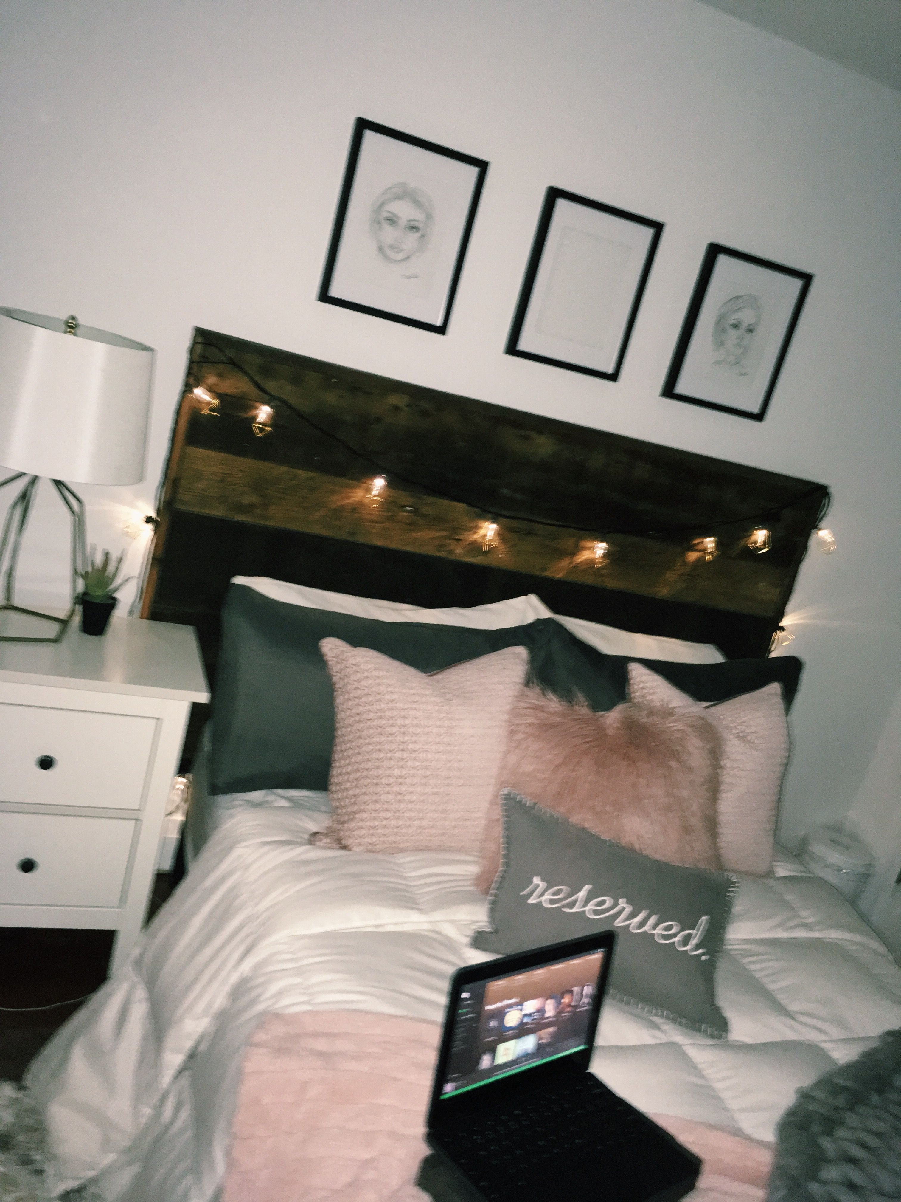 Tumblr Bedroom Idea Bedroom Design Aesthetic Bedroom House Rooms