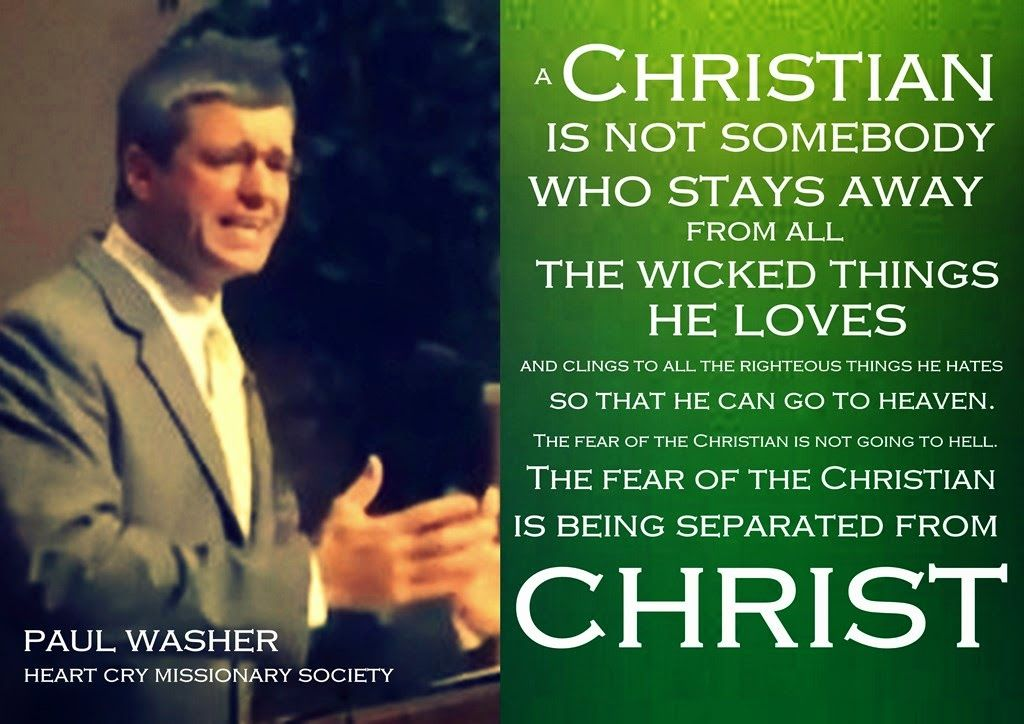 Greatest Fear of a Christian - Paul Washer