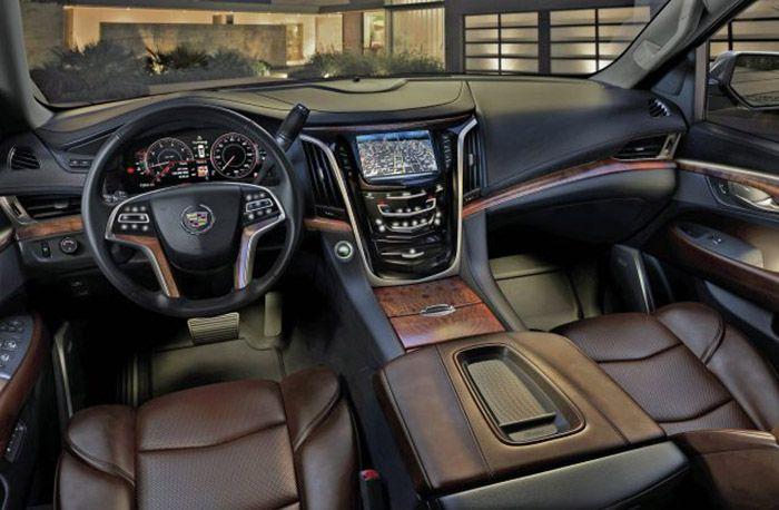 2018 Cadillac Escalade interior, | Escalade | Pinterest | Lujoso y Camioneta