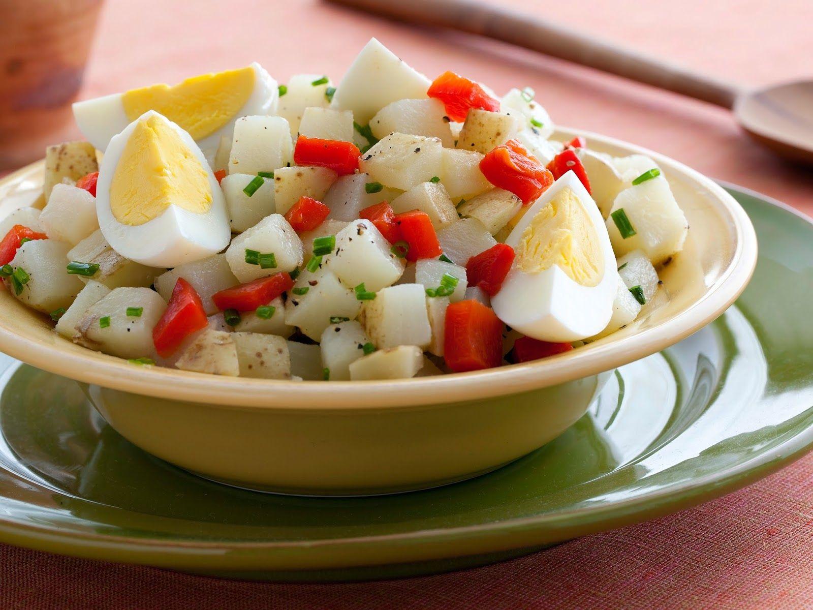 recipes magazine: Potato-Egg Salad
