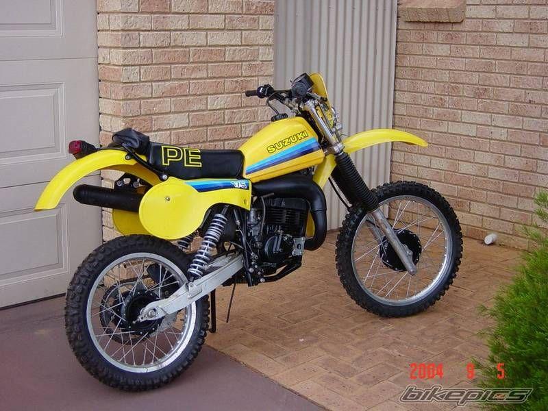 1981 suzuki pe 175 motorcycle pinterest dirt biking motocross rh pinterest com 1984 Pe 175 1979 Suzuki Pe 175