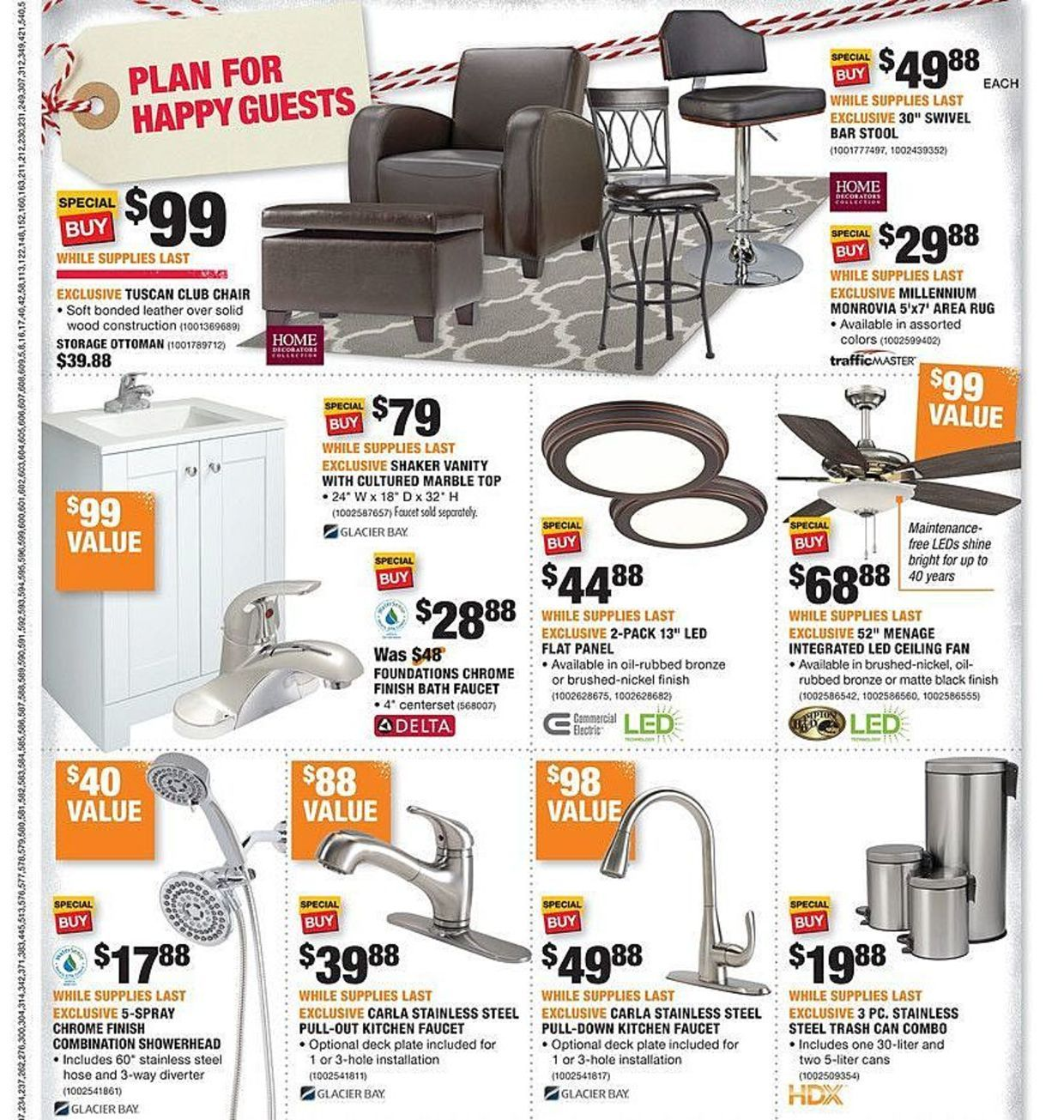 Fabulous Home Depot Black Friday 2017 Ads And Deals As Usual Home Spiritservingveterans Wood Chair Design Ideas Spiritservingveteransorg