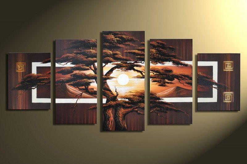 Handgemalte Bilder Kaufen designbild afrika baum sonnenuntergang handgemalt bild acryl