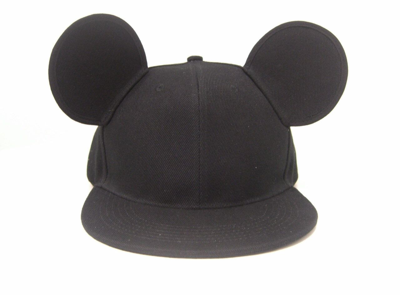 71700a29246 Mickey Mouse Ears Snapback by MODUDESIGNS on Etsy https   www.etsy.