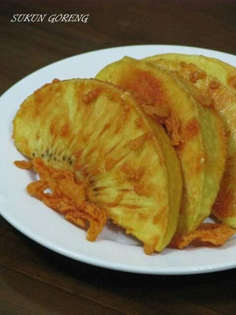 Sukun Goreng Makanan Cemilan Resep