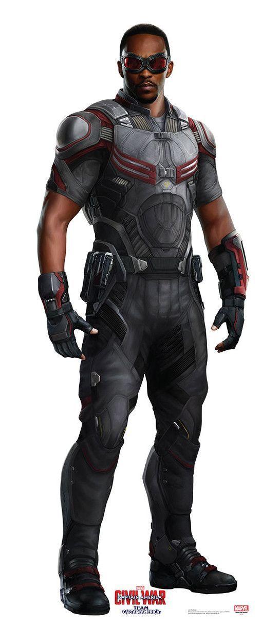 Advanced Graphics Falcon From Captain America Civil War Life Size Cardboard Standup Falcon Marvel Superhero Marvel Superheroes