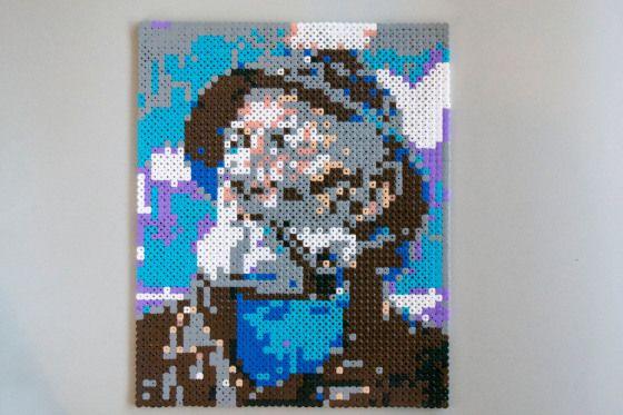 Fiskeren // Hama perler beads // A whole Lotte love