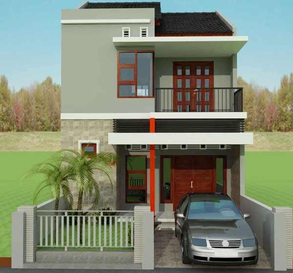 Denah Model dan Desain  Rumah Minimalis  Type 36 72 2019