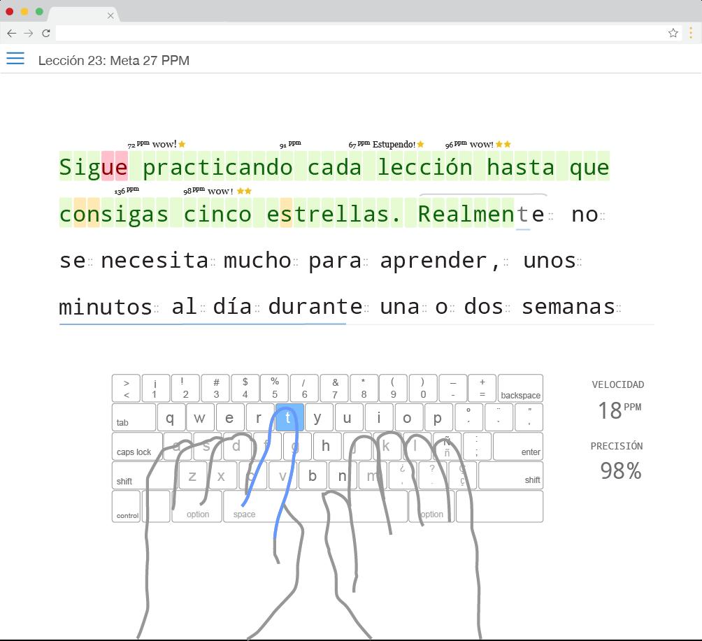 Curso Gratis De Mecanografía En Español Typingclub Educational Apps Education Periodic Table