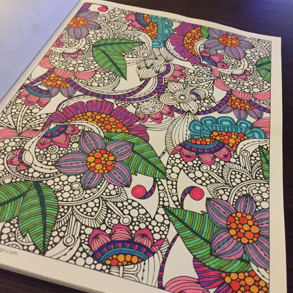 Including Link To Recommended Adult Coloring Books