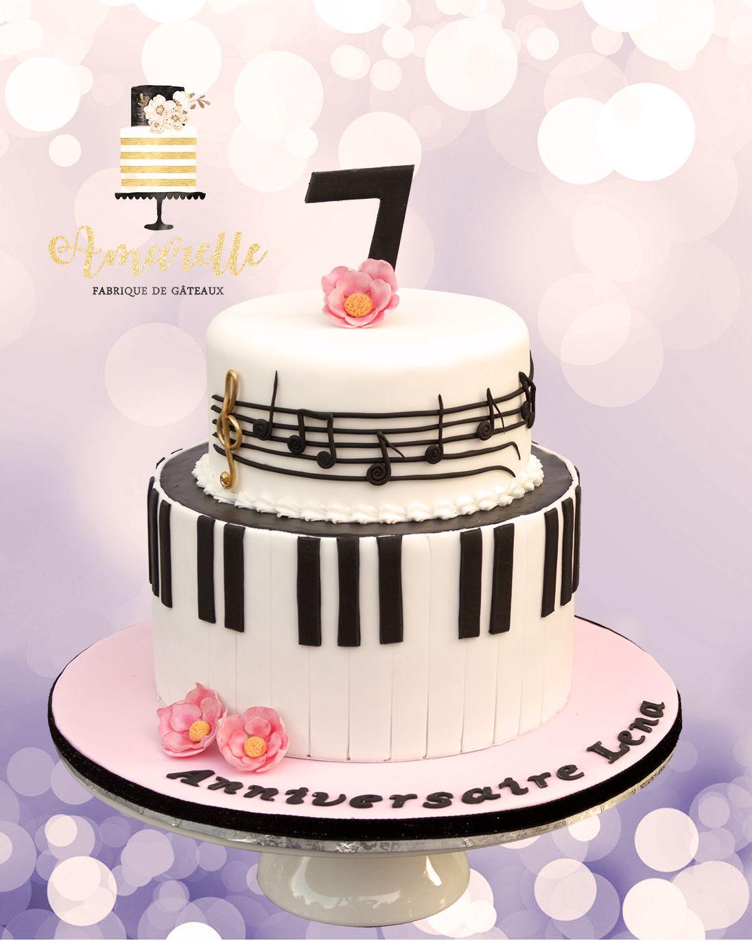 Gateau piano musique music cake en 2019 gateau anniversaire anniversaire musique et g teau - Image gateau anniversaire 60 ans ...