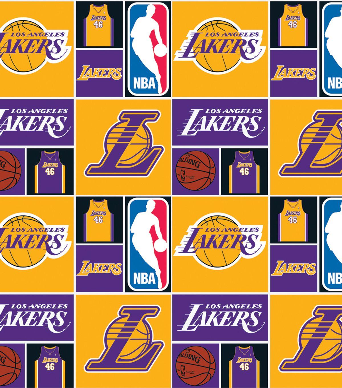 La Lakers Cotton Fabric Patch Joann Nba Los Angeles Lakers La Lakers