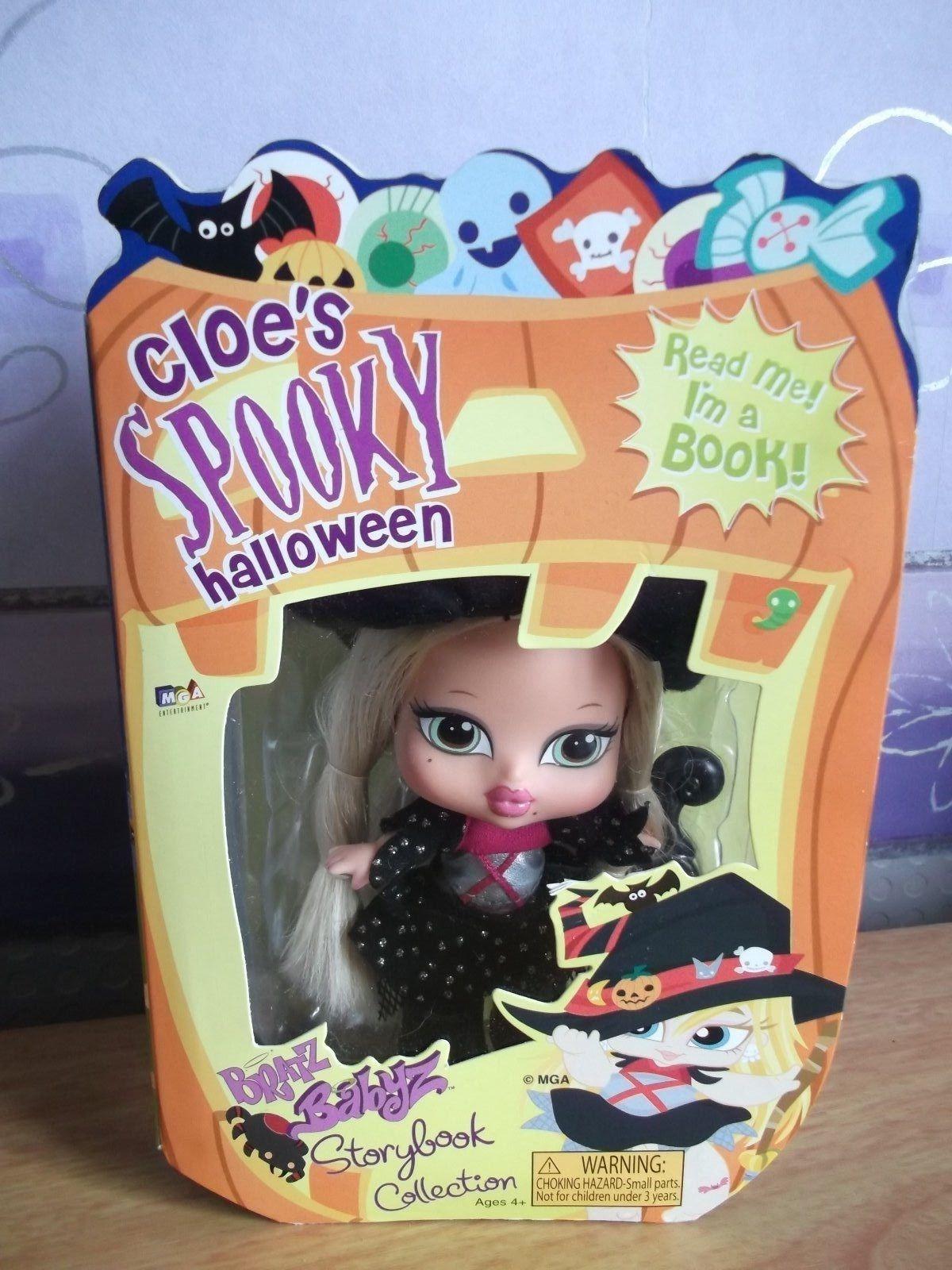 Bratz babyz storybook collection doll Cloe s spooky halloween New