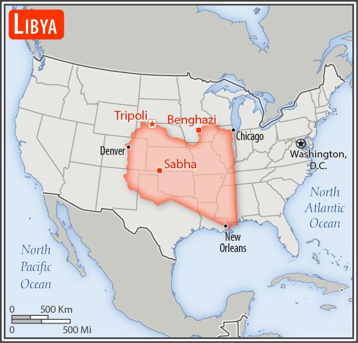 Libya Us Size Comparison China Map Country Maps Libya